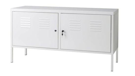 ikea-white-metal-tv-stand