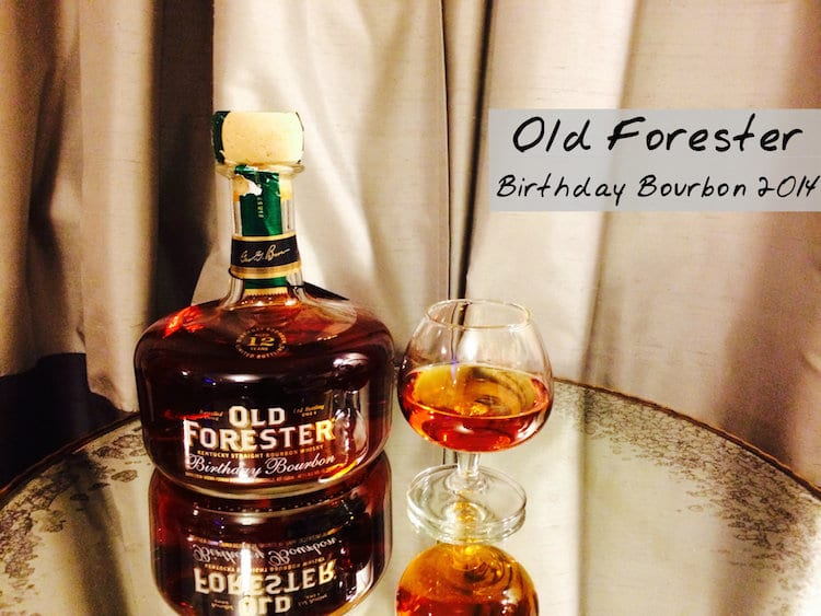 Old Forester Birthday Bourbon 2014