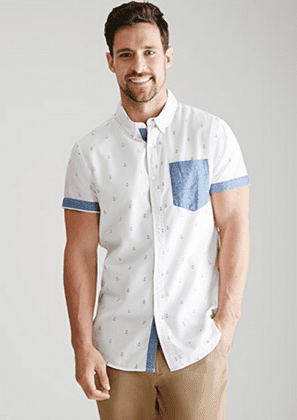 Button Down Short Sleeve Shirts