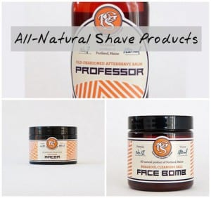 All Natural Mens Shave Products