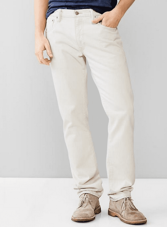 Best White Jeans for Men 2015 - Summer White Skinny Jeans Pants