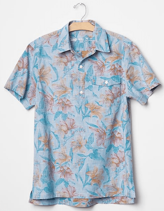 popover-shirt-for-men-floral-gap