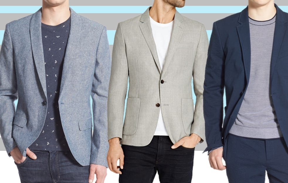 Best Mens Blazers for Spring 2018 - Top Slim Fit Sports Coat ...