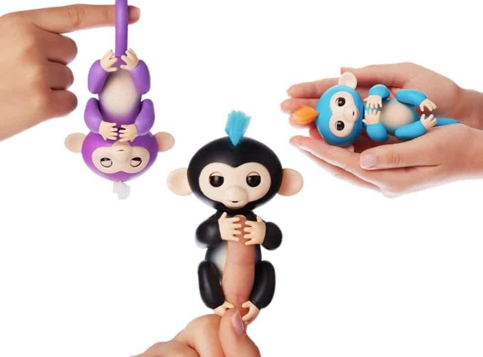 fingerlings interactive baby monkey finger puppet toys 2017 2018 christmas