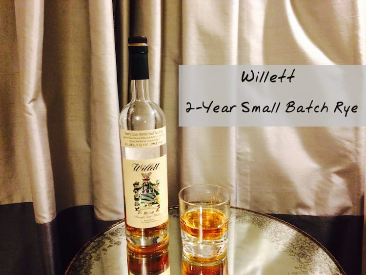 Willett Small Batch 2 Year Rye