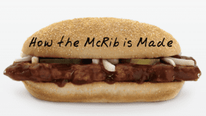 I Was Shocked to See How They Make the McRib at McDonald's.  Wanna See?