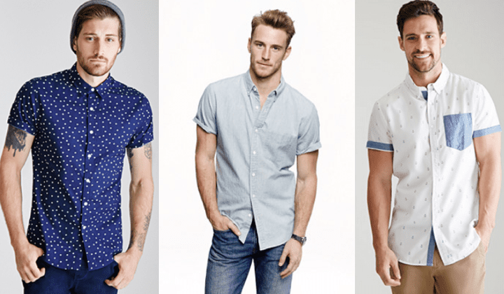 10 best short sleeve shirts 2015 top mens short sleeve for Men s fashion short sleeve shirts
