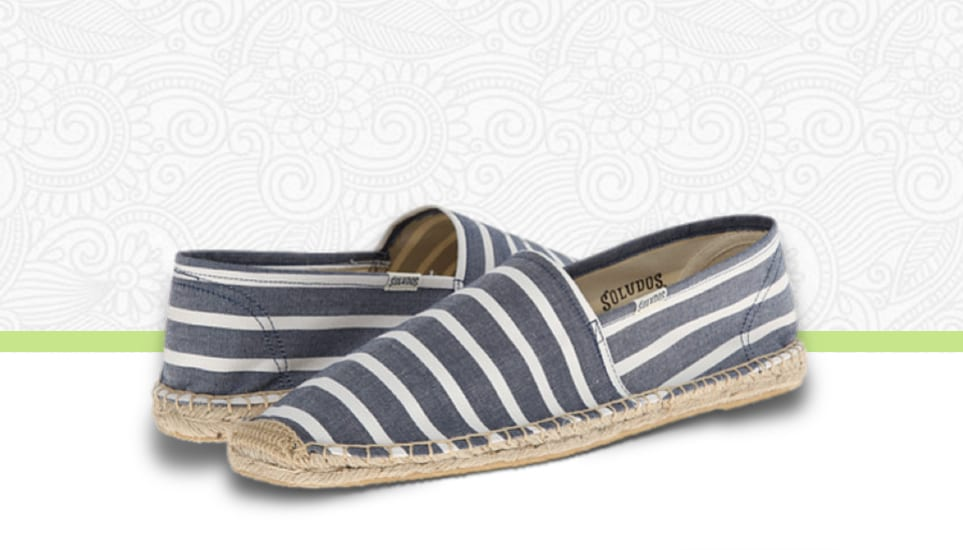Best Espadrilles 2016 for Men: Soludos & Toms Espadrille Slippers This Summer