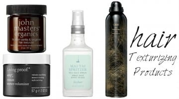 12 Hair Texturizing Products For Tousled Tresses