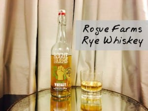Rye Whiskey Thoughts: Rogue Farms Oregon Rye Whiskey