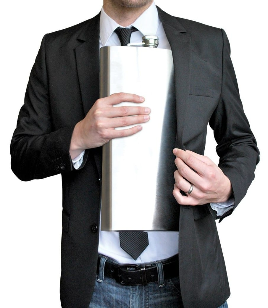 Funny Gifts: World's Largest Flask