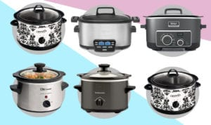 Crock Pot Palooza:  The 9 Best Slow Cookers Perfect For One, Two or Large Parties