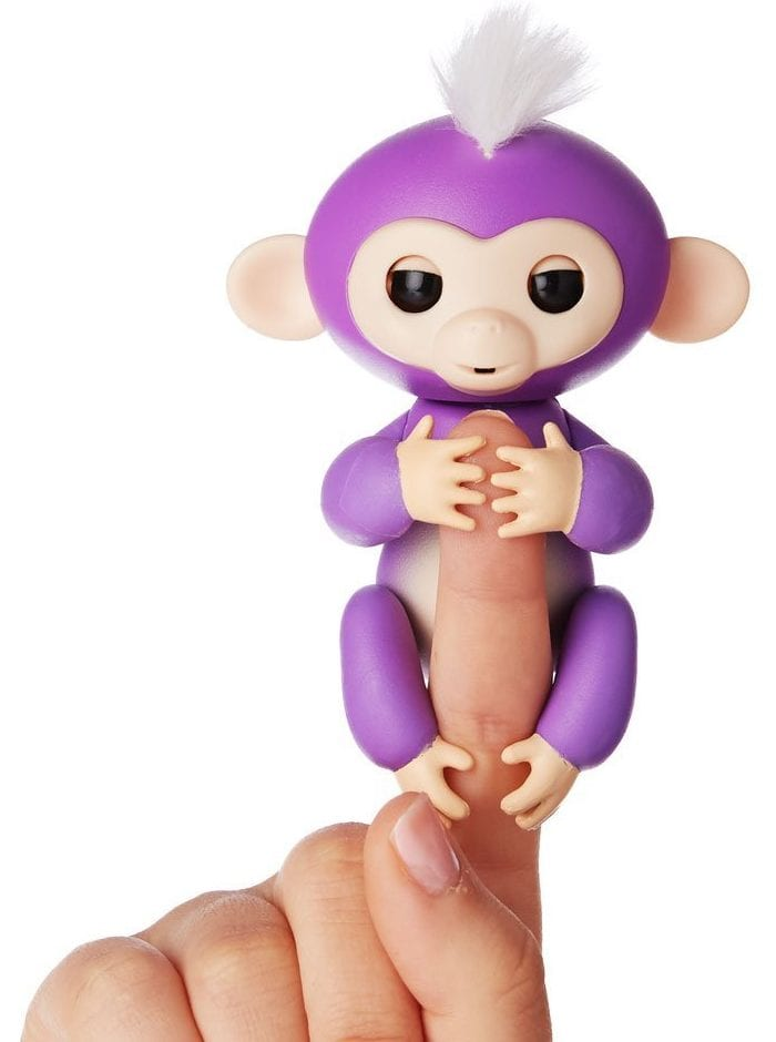 Fingerlings Baby Monkey Toy 2017: Mia Purple Monkey 2018