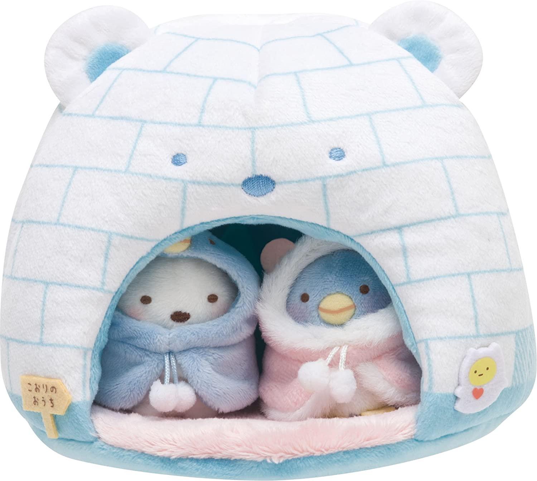 House of Ice Stuffed Animals and Igloo